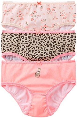 Carter'S Little Girls' 3 Pack Panties (Toddler/Kid) - Print Asst - 4-5 front-157455