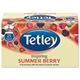 Tetley Tea Bags Summer Berry Individually Wrapped Ref A06684 6x25