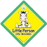 Little Person On Board Zebra Little Person On Board Car Sign Little Person On Board Zebra Little Person Sign Car Safety Sign Baby on Board Decal Bumper Sticker Baby On Board Baby Sign Baby Car Sign Maternity Pregnancy Paternity