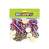 Pack Of 24 Loot Bag Favour Winners Medals