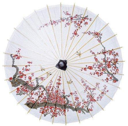 Paper Bamboo Parasol Paper Parasol Umbrella