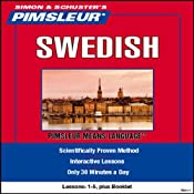 Swedish: Lessons 1 to 5: Learn to Speak and Understand Swedish | [Pimsleur]