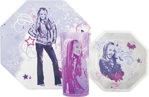 disney-hannah-montana-dinnerware-set-3-pcs-plate-bowl-and-tumbler-set