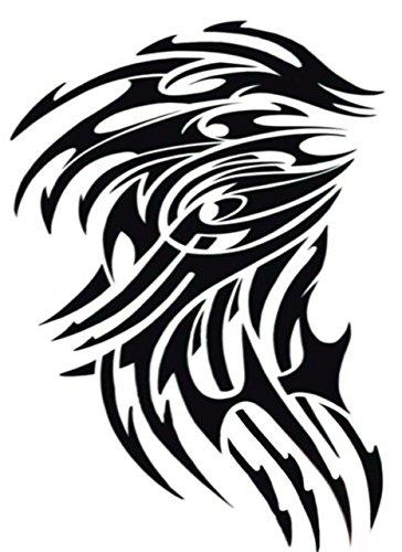 Bewild Extra Large Temporary Tattoo Tribal