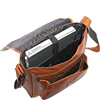 David King & Co. Laptop Messenger with Front Gusset Pocket by David King & Co.