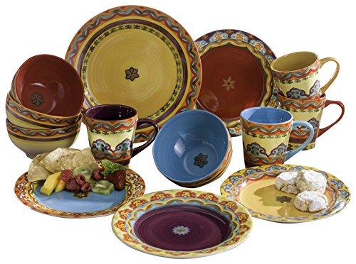 sc 1 st  Anna Linens & Euro Ceramica GALICIA 16 Piece Dinnerware Set