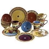 Euro Ceramica GALICIA 16 Piece Dinnerware Set