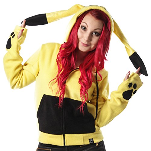 Cupcake Cult Striker Felpa jogging donna giallo XL
