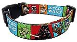 Star Wars Cartoon Dog Collar Large