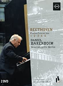 Beethoven - Piano Concertos [2 DVDs]