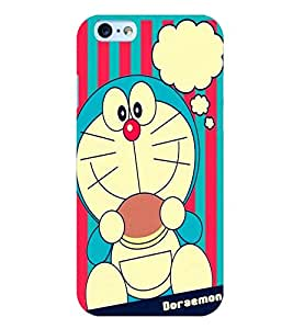 Printvisa cartoon character in blue Back Case Cover for Apple iPhone 6S Plus