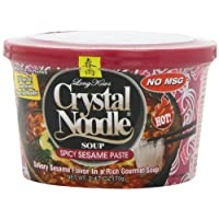 Crystal Noodle Spicy Sesame Paste Soup, 2.47-Ounce Cup (Pack of 6)