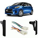 Fits Scion xD 2008-2014 Double DIN Aftermarket Harness Radio Install Dash Kit