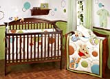 $ Cool Deal # Disney Pooh Happy Days 4pc Crib Bedding Set