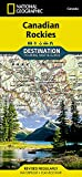 img - for Canadian Rockies (National Geographic Destination Map) book / textbook / text book