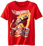 Hot Wheels Boys 8-20 Live Fast Tee