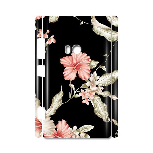 Vintage Flower Custom 100% Plastic 3D Case For Nokia Lumia 920