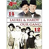 Laurel and Hardy / Our Gang 4-DVD Set