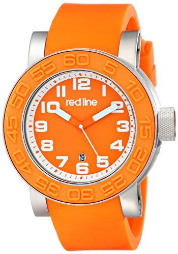 red line Men's RL-50051-06 Xlerator Analog Display Japanese Quartz Orange Watch (Red Line Orange Dial Watch compare prices)