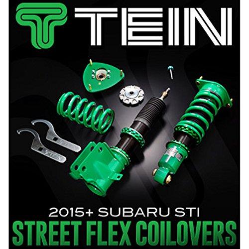 Tein GSSB0-51SS1 Street Flex Coil-Over Kit for Subaru WRX/STI (Tein Street Flex Coil Overs compare prices)