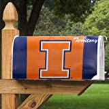 NCAA Illinois Fighting Illini Territory Mailbox Cover at Amazon.com