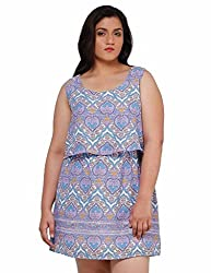 Oxolloxo Plus size trendy dress