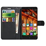 ElePhone P9000 Hülle , Anzhao PU Ledertasche Brieftasche