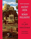 Introductory Readings in Ancient Greek And Roman Philosophy (0872208303) by C. D. C. Reeve