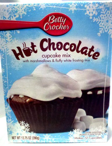 Betty Crocker Hot Chocolate Cupcake Mix (2 Packages) at Amazon.com