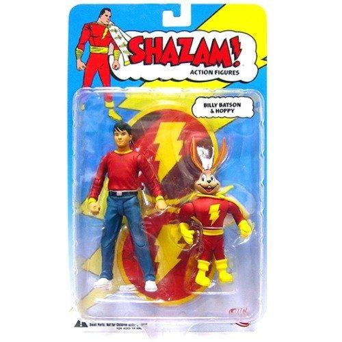Shazam! (Captain Marvel): Billy Batson & Hoppy Action Figures 2-Pack (Billy Batson Action Figure compare prices)