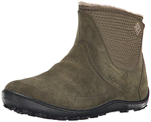 Columbia Women's Minx Nocca Slip Nylon Cold Weather Boot, Nori/Silver, 9.5 M US (Columbia Shoes Women Winter compare prices)