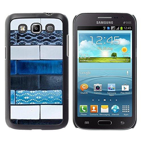 Pulsar Snap-on Series plastica caso dura Guscio Protettivo Cassa Cover Case per Samsung Galaxy Win / i8550 / i8552 / Grand Quattro , Art Paint Street Hand Made