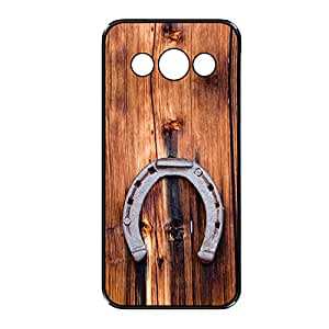 Vibhar printed case back cover for Samsung Galaxy A8 WoodHorse