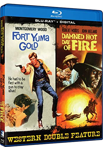 Blu-ray : Fort Yuma Gold (aka For A Few Extra Dollars) /  Damned Hot Day Of Fire (aka Gatling Gun) (Blu-ray)