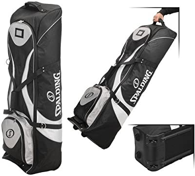 Spalding Padded Golf Bag Travel Cover with Wheels from Spalding