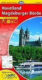 ADFC-Radtourenkarte 8 Havelland Magdeburger Börde 1:150.000, reiß- und wetterfest, GPS-Tracks Download und Online-Begleitheft