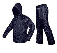 ZAVIA-Premium Plain Unisex Rain Coat-Blue
