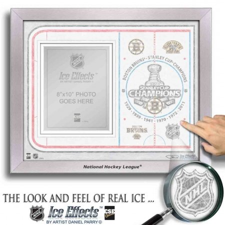 NHL Boston Bruins Ice Effects Frames-2011 Stanley Cup Champions 001313 FRAMEHKYICESC11