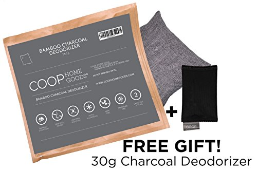 coop-home-goods-natural-moso-bamboo-charcoal-deodorizer-air-purifier-250-grams-with-free-30g-sachet-