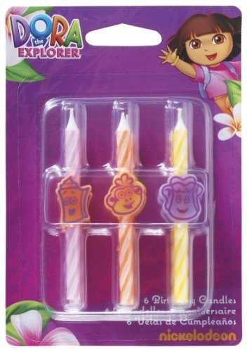 Dora the Explorer Icon Candle by Dora the Explorer