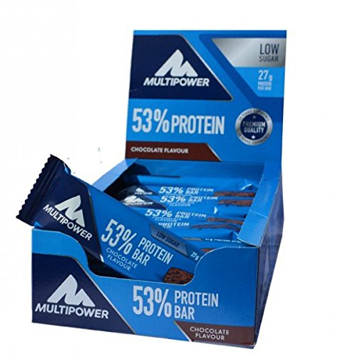 Multipower 53% Protein Bar BIG BOX 30 x 50 g 1,5kg - MIX BOX