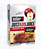 Weber Just Add Juice Original BBQ Marinade Mix (Apple)