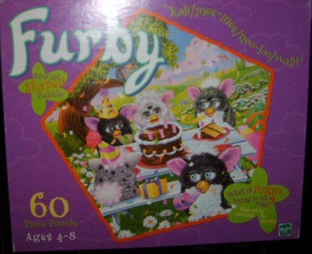 Furby Pentagon Shaped 60 Piece Puzzle
