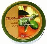 Delon+ Intensely Moisturising Luxurious Body Butter: OLIVE 200ml Tub