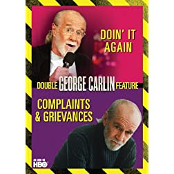 George Carlin Double Feature: Complaints & Grievances / Doin It Again