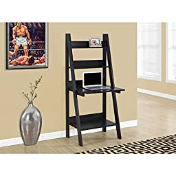 Cappuccino Ladder-style Computer Desk- 61\