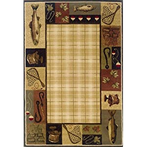 Lake Cabin Rug Reviews
