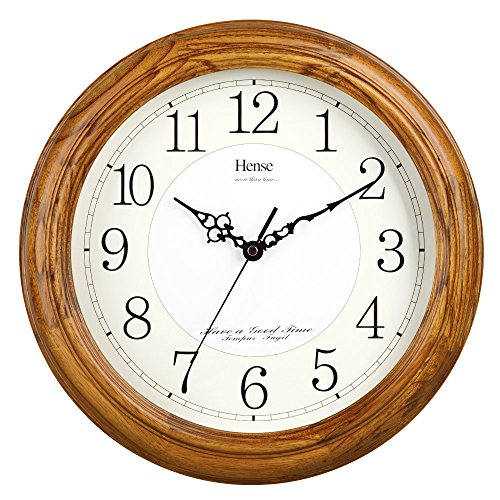 hense-13-inch-large-solid-platane-wood-wall-clock-living-room-modern-clock-mute-simple-quartz-clock-