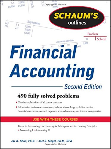 Schaum's Outline of Financial Accounting, 2nd Edition (Schaum's Outline Series) image