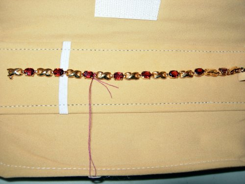 Garnet Bracelet - Moghul Jewelry Museum Collections